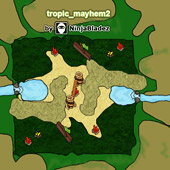 Mini Map - Tropic Mayhem 2